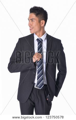 Portrait of a smiling businessman.