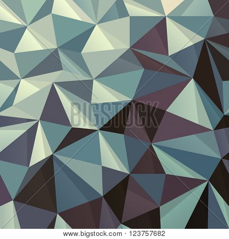 Triangle Abstract Geometric Pattern