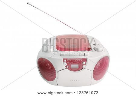 The image of recorder under the white background