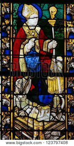 Saint Nicolas - Stained Glass
