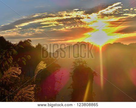 "Magical sunrise in ""Avatar"