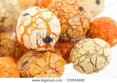 Japanese Sweets Beans (nuts) With Colored Sugar Coat,