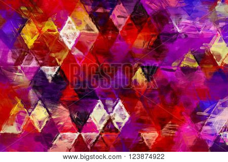 triangles painting, triangles impressionism, background geometry painting, impressionism geometry design, creative painting decoration, background impressionism pattern, geometry cover design,