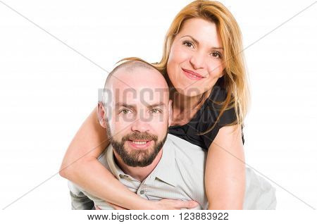 Husband Carrying Crazy Wife