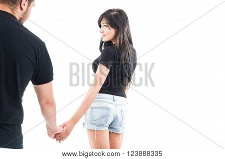 Girlfriend Leaving Or Inviting To Go Together