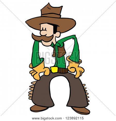 cowboy cartoon