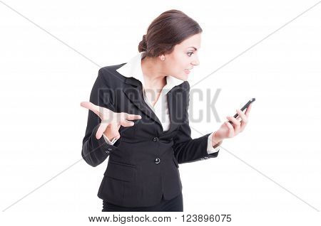 Bossy Female Manager Demanding Explanations Over Video Call