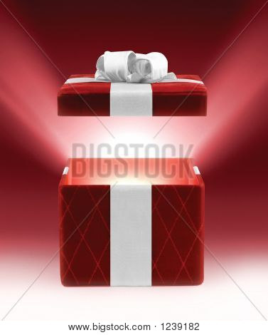 Red Glowing Gift