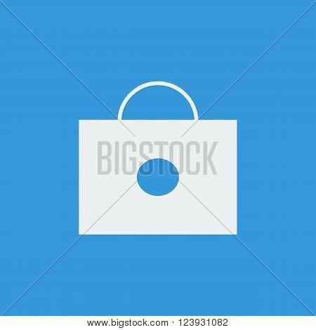 Briefcase Icon In Vector Format. Premium Quality Briefcase Icon. Web Graphic Briefcase Icon Sign On