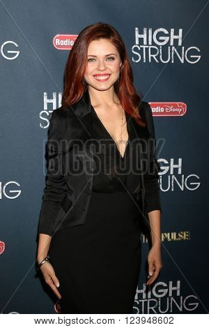 LOS ANGELES - MAR 29:  Anna Trebunskaya at the High Strung Premiere at the TCL Chinese 6 Theaters on March 29, 2016 in Los Angeles, CA