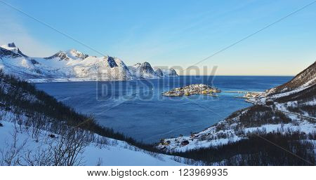 Husoy Morning, Senja, Norway
