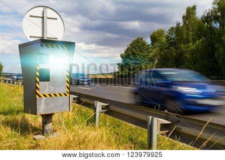 Automatic Speed Camera