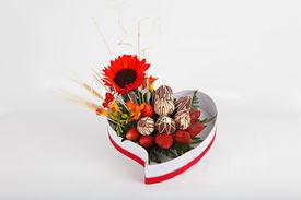 Valentine's Day strawberries gift