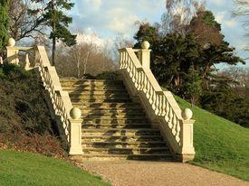 Elegant Stone Stairway