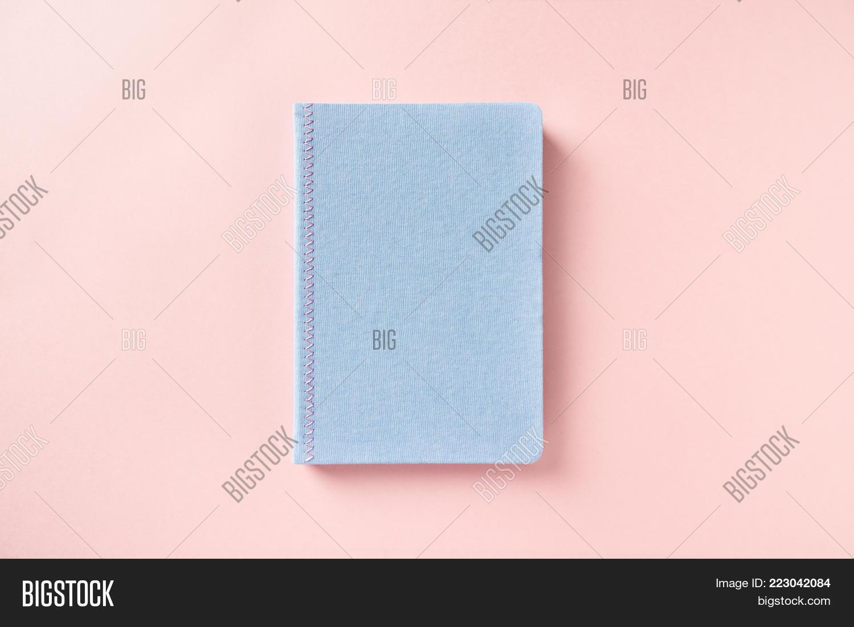 Light Blue Notebook Powerpoint Template Light Blue Notebook