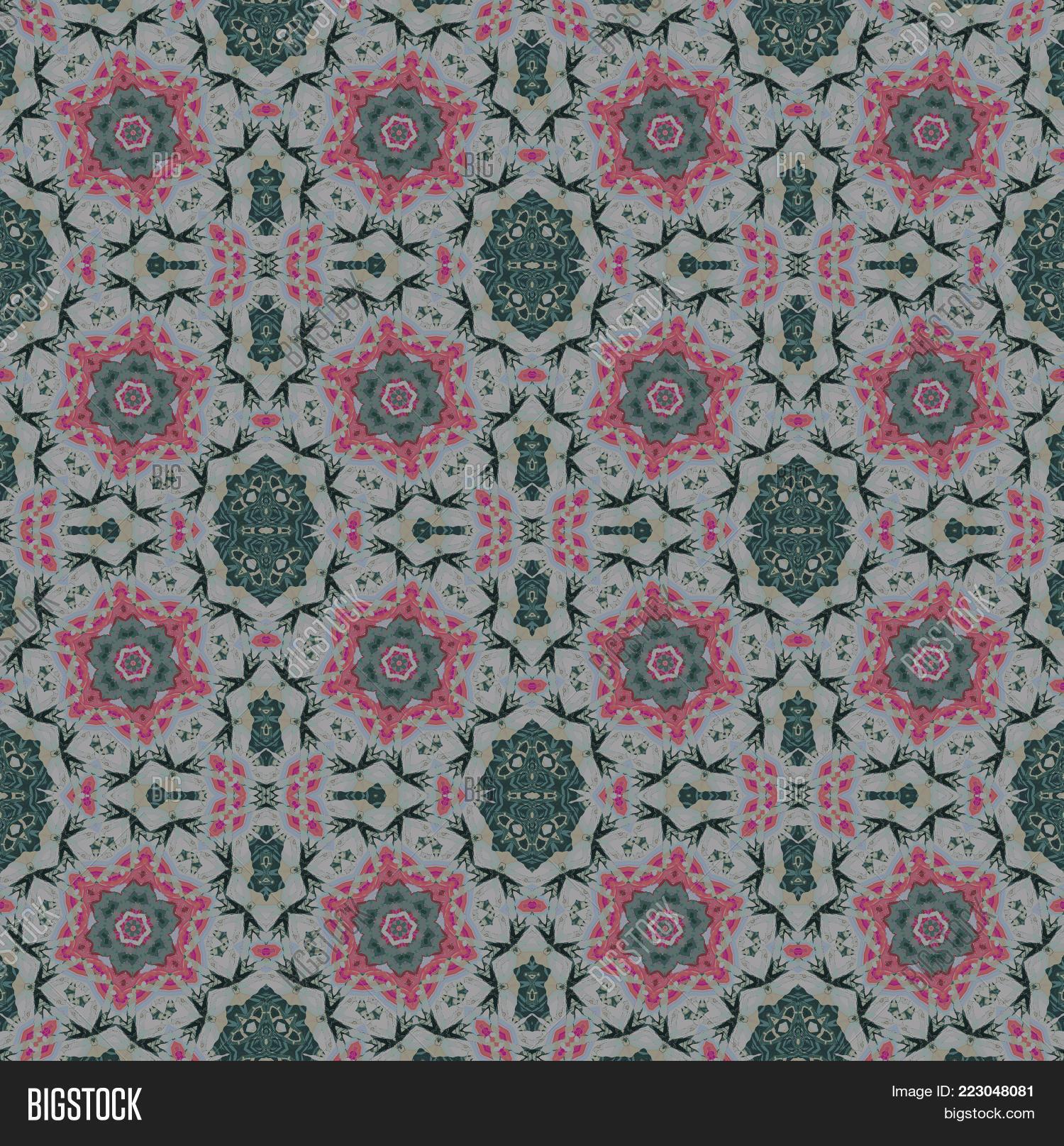 Pattern regular floral powerpoint template pattern regular floral ornamental powerpoint template 60 slides toneelgroepblik Gallery