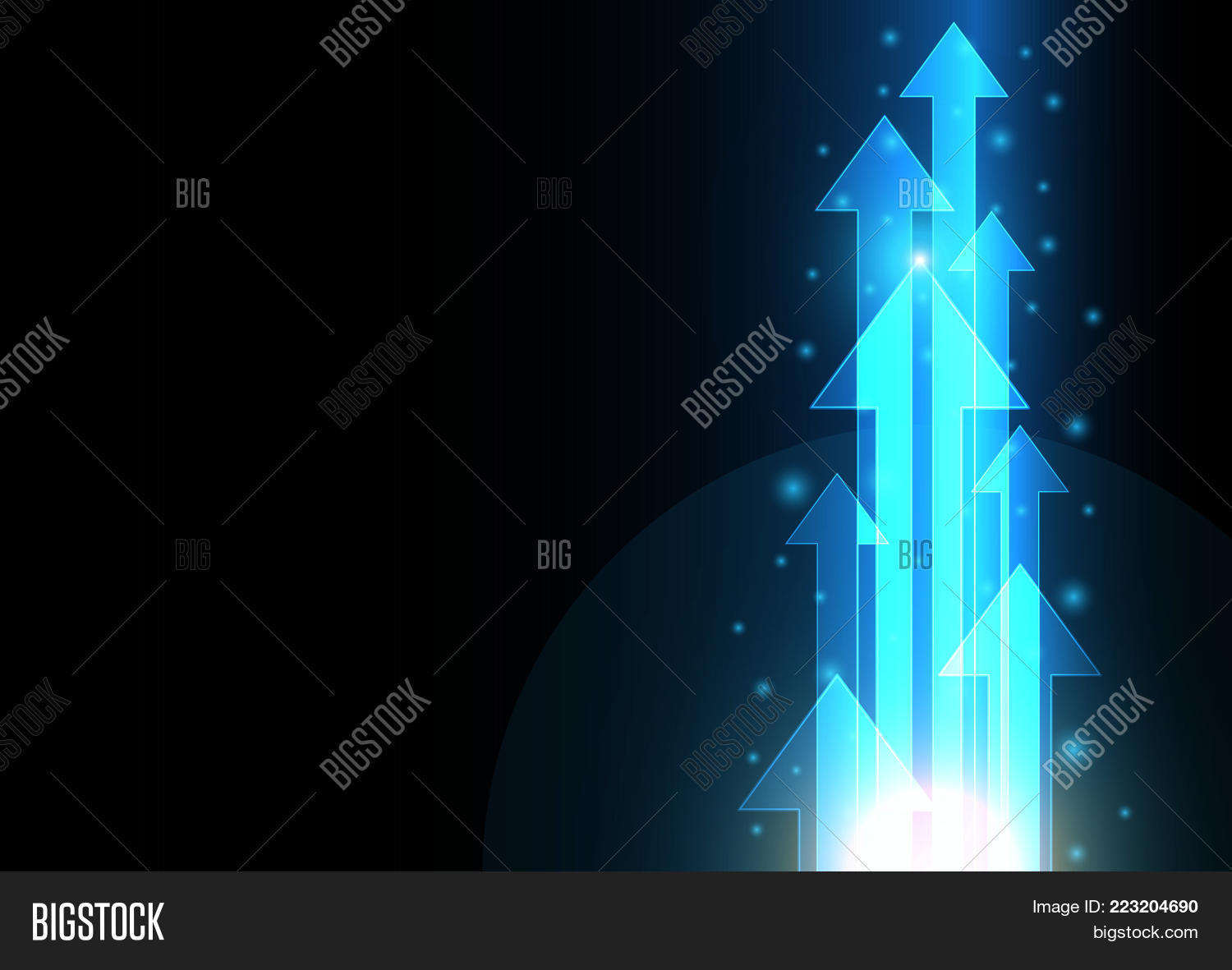 future technology digital abstract powerpoint template future