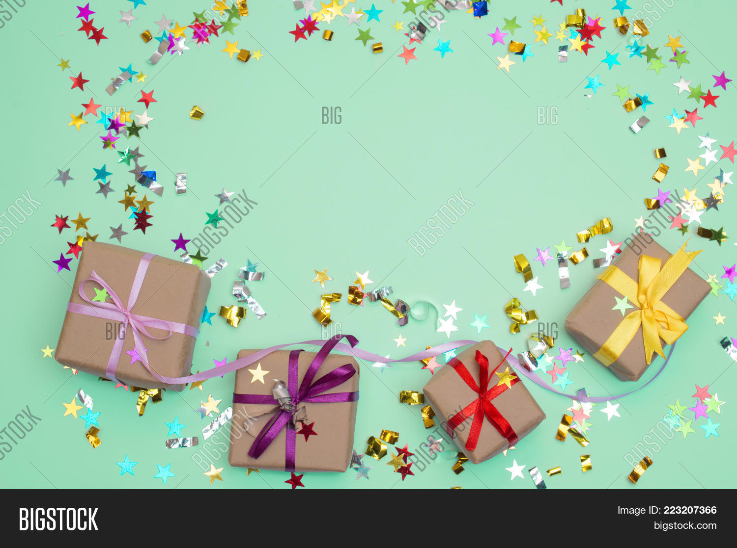 Celebration happy birthday and gift powerpoint template y toneelgroepblik Image collections