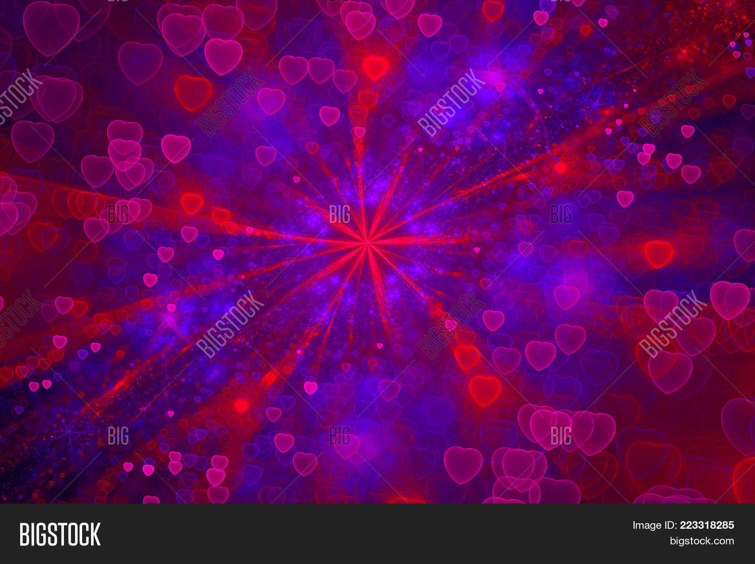 romantic galaxy powerpoint theme powerpoint template romantic