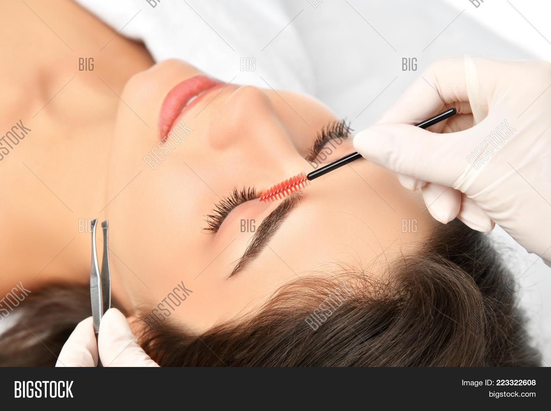 Beautician Doing Image Photo Free Trial Bigstock