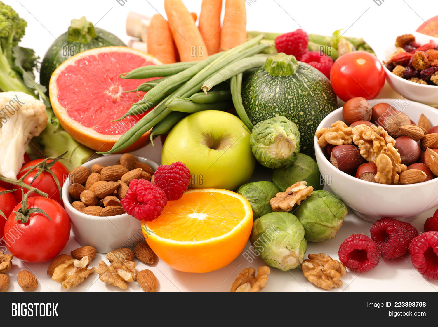 Food Selection Health Powerpoint Template Food Selection Health