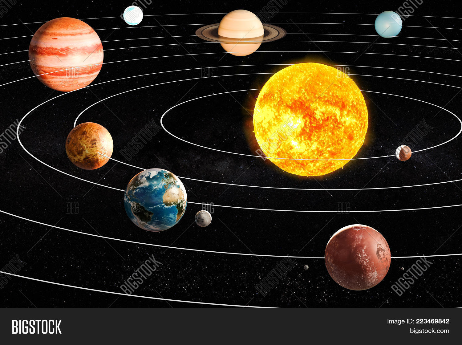 planets of the solar system powerpoint template planets of the