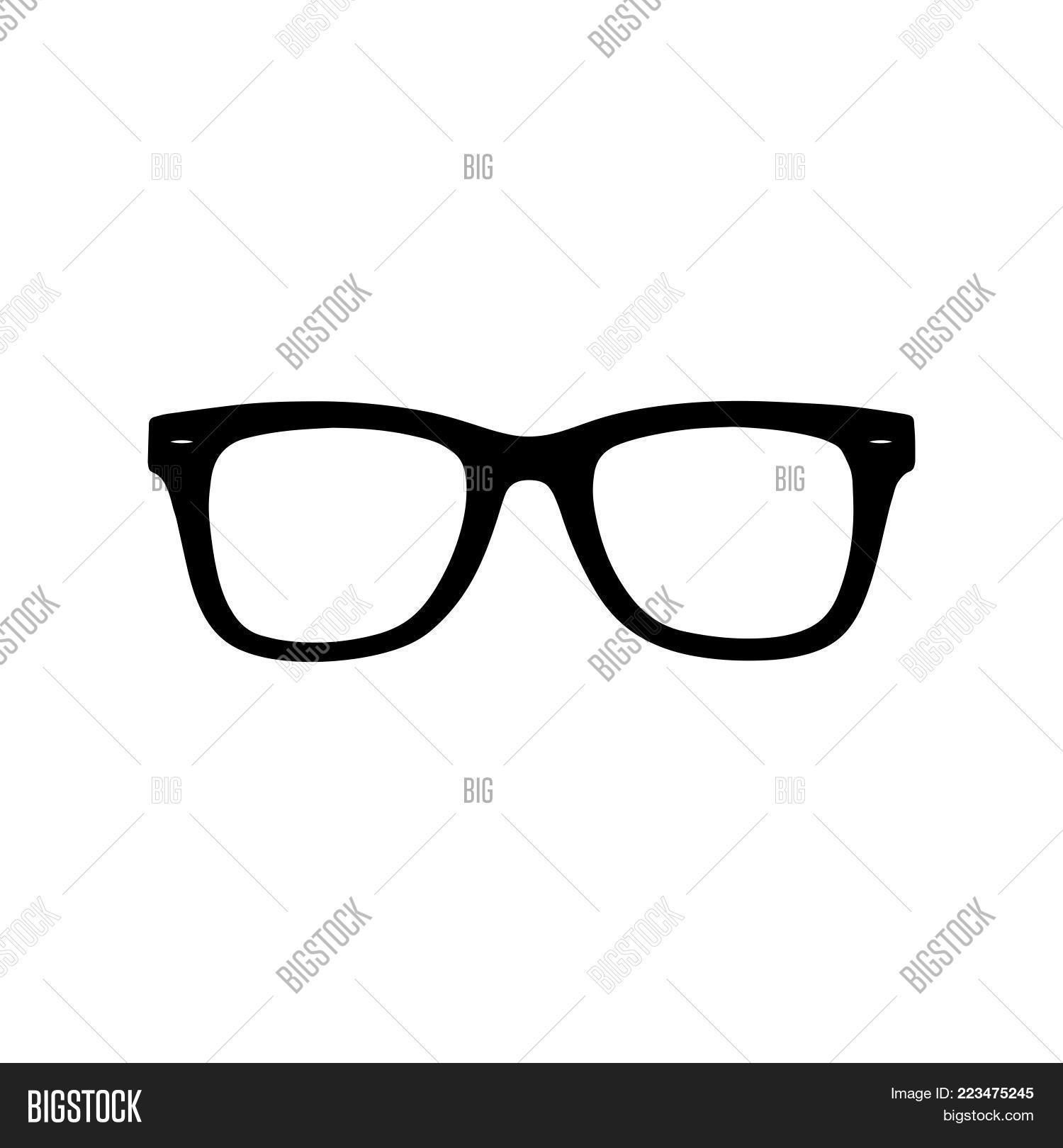 Glasses Icon Isolated Vector Photo Free Trial Bigstock