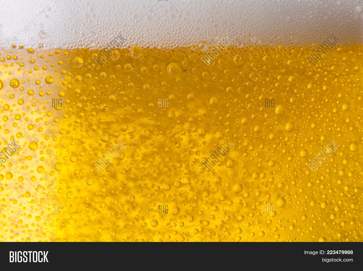 concept glass closeup beer powerpoint template concept glass