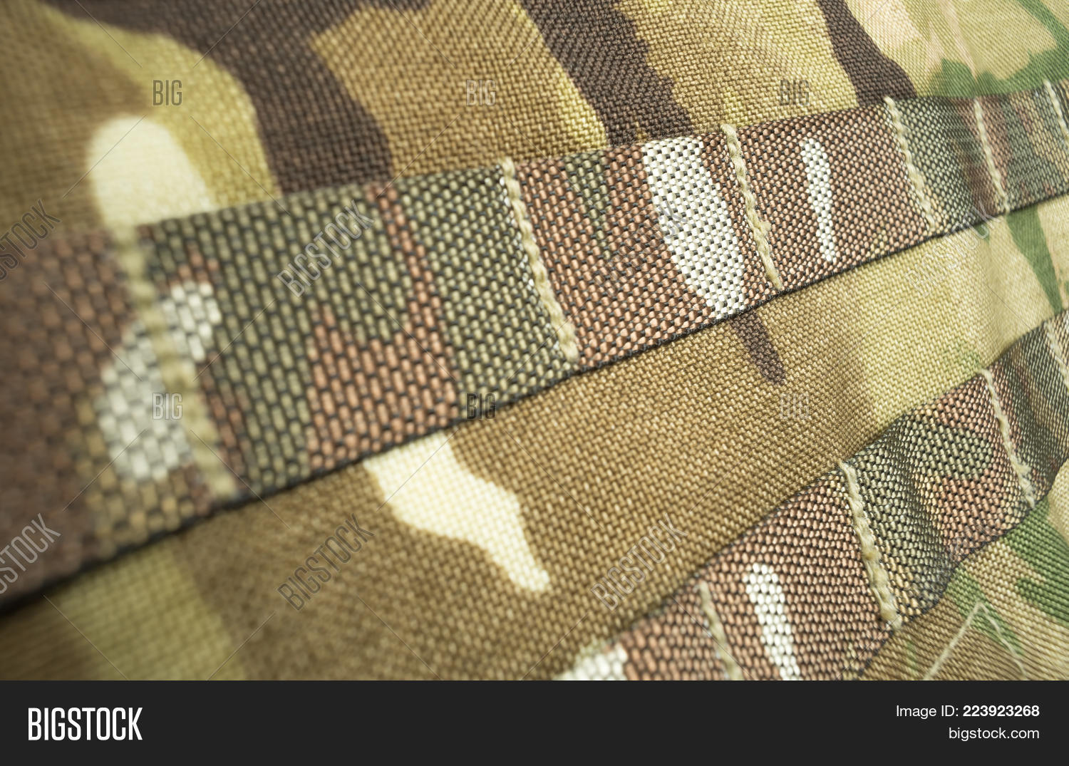 military camouflage webbing powerpoint template military
