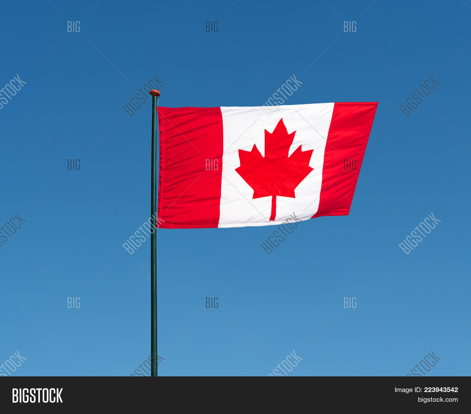 Canadian National Image Photo Free Trial Bigstock
