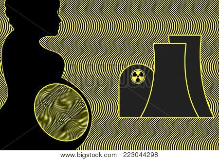 Pregnancy and Radiation Exposure. Potential risks for expecting mothers around nuclear reactors through radiation
