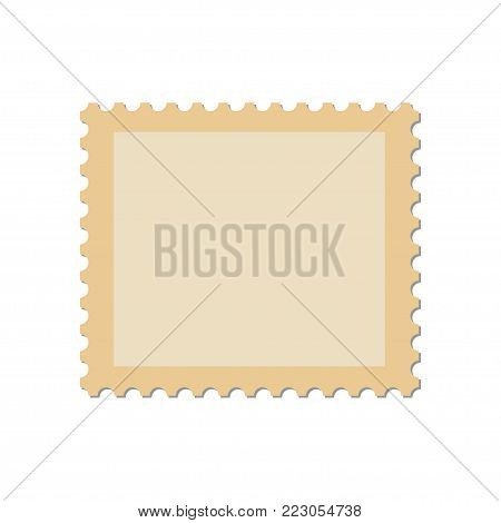 Blank Postage Stamp Vector & Photo (Free Trial) | Bigstock