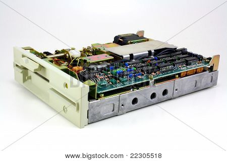 Old 5 ¼ Floppy Drive