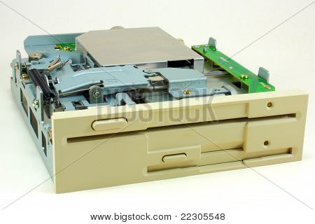 Dual floppy drive