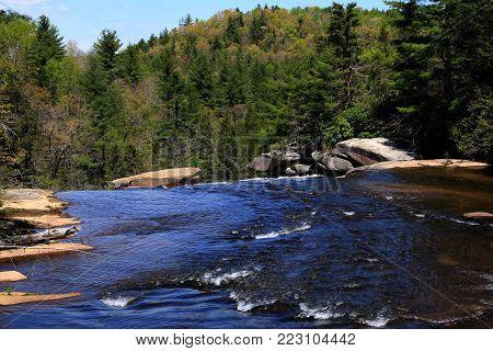 Waterfalls of North Carolina along the Blue Ridge Parkway