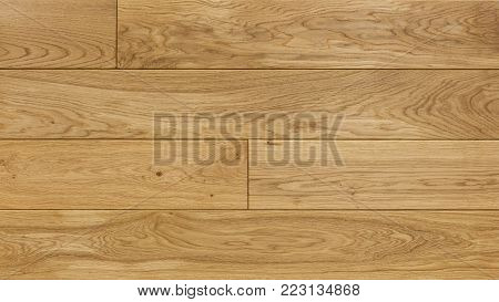 Wood texture background for design, oak toned board .