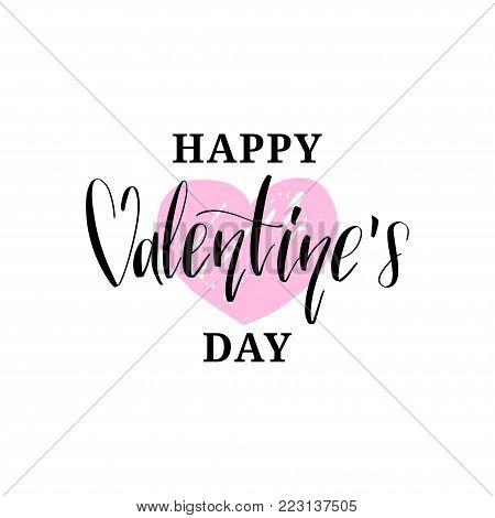 Happy Valentines Day Vector Photo Free Trial Bigstock