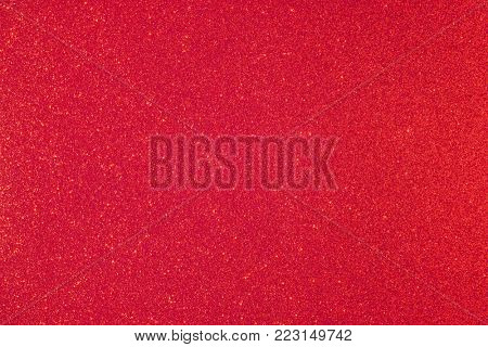 Shiny glimmering red texture