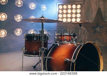 Drum-kit, drum-set, percussion instrument, drumkit