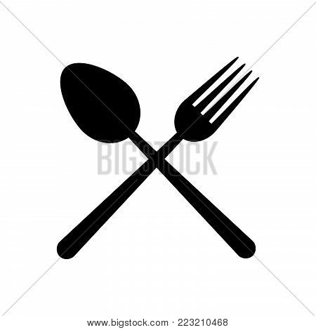 Restaurant icon isolated on white background. Restaurant icon modern symbol for graphic and web design. Restaurant icon simple sign for logo, web, app, UI. Restaurant icon flat vector illustration, EPS10.
