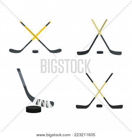Fabulous hockey stick vector photographs