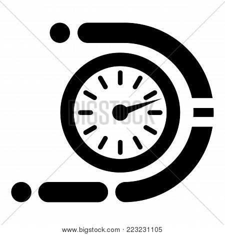 Timer icon. Simple illustration of timer vector icon for web