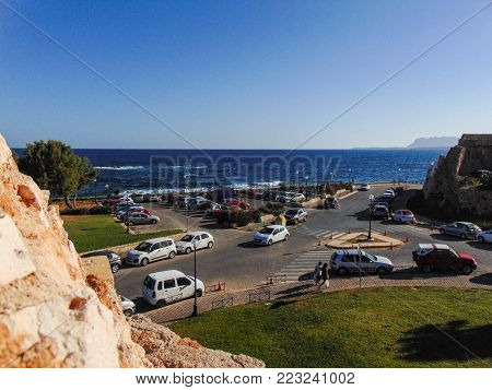 View from the Venetian Walls of Chania, Greece
