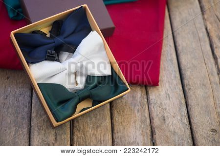 Men New Bow-tie In Box Fashionable Accessory For Man