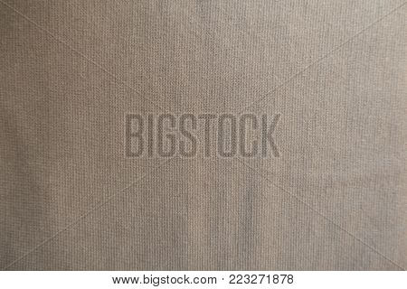 Cream simple unprinted jersey fabric from above