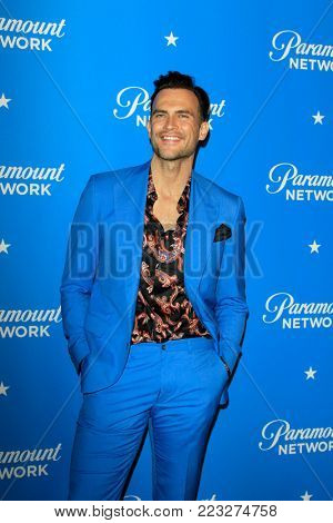 LOS ANGELES - JAN 18:  Cheyenne Jackson at the Paramount Network Launch Party at the Sunset Tower on January 18, 2018 in West Hollywood, CA