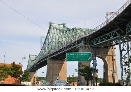 Bridge in Montreal
