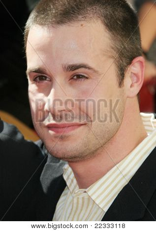 LOS ANGELES, CA - DEC 14: Freddie Prinze Jr at a ceremony where Freddie Prinze is honored with a posthumous star on the Hollywood Walk of Fame on December 14, 2004 in Los Angeles, California