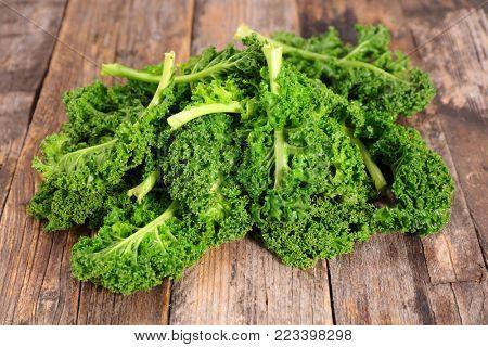fresh kale leaf