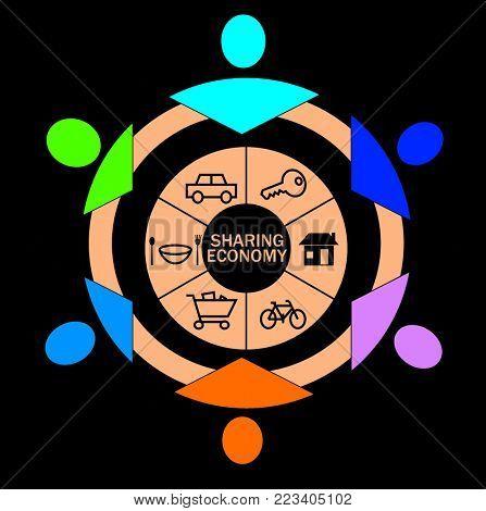 Sharing Economy concept
